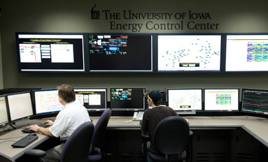 Empowered - University charges ahead with new Energy Control Center