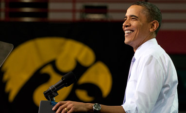 Presidential Address  - President Obama returns to campus to deliver speech