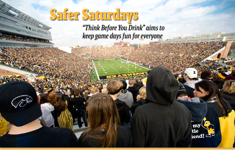 "Safer Saturdays ""Think Before You Drink"" initiative aims to keep game days fun for everyone"