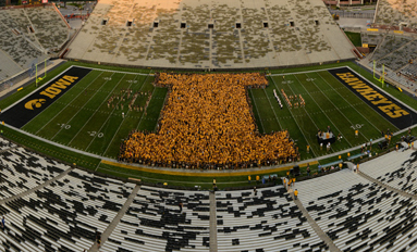 Proudly at the Fore First-year students kick off Iowa tenure by learning what it means to be a Hawkeye