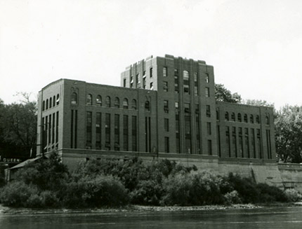 View of the IIHR building from the east, after 1932