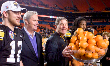 A Fruitful Season  Hawkeyes finish 11–2 with Orange Bowl victory