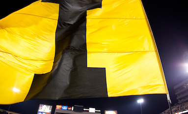 Bowled Over--Hawkeyes lose the game, but fans have fun