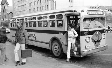 Going the Distance--Cambus has been crisscrossing campus for 40 years