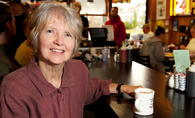 Boiling Down the Burg--Alumna publishes book on legendary Iowa City diner