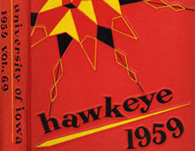 THE HAWKEYE YEARBOOKS