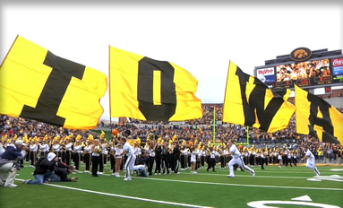 Game On! - The sights and sounds of a Saturday in Iowa City