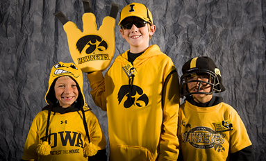 Faces of the Faithful - A Hawkeye game-day gallery