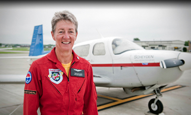 A Reason to Fly Alumna sets a record and seeks a cure