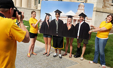On Iowa!--New kickoff events give first-year students a running start