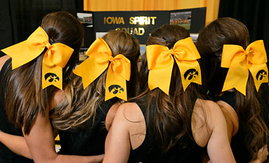 Where Black and Gold Take Hold--At annual FRY Fest trade show, Hawkeyes always dominate