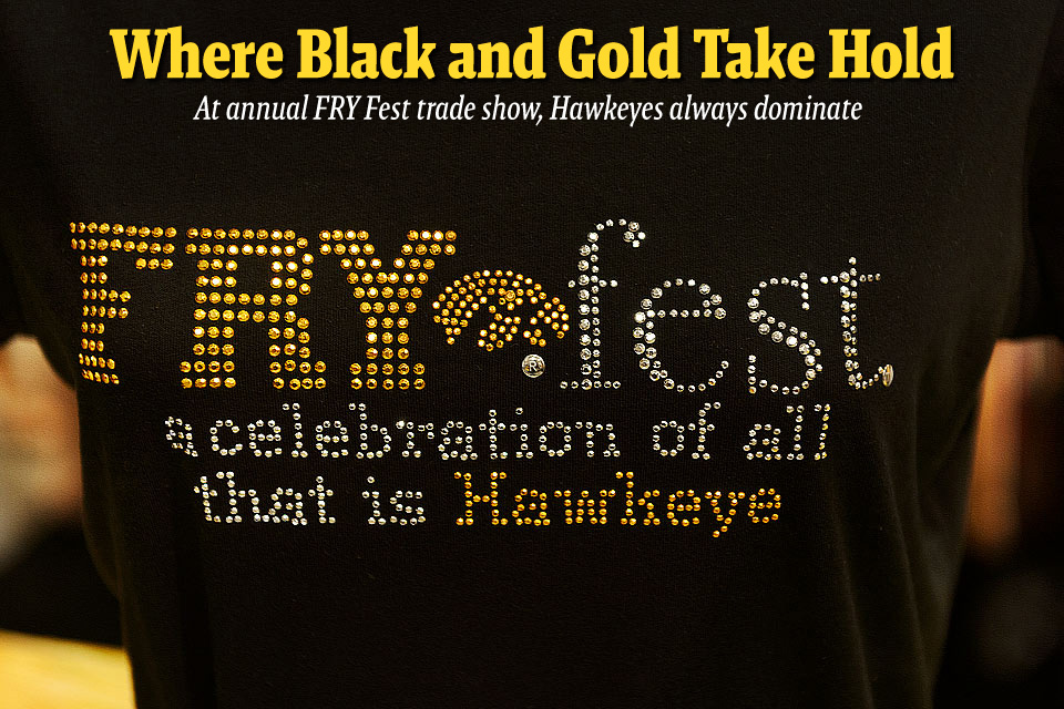 "The annual FRY Fest, ""a celebration of all things Hawkeye,"" was held Sept. 7 at the Coralville Marriott Hotel and Conference Center."