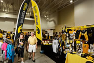 Part of FRY Fest is the World's Largest Hawkeye Trade Show, where one can pick up almost everything under the sun with a Hawkeye logo.