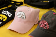 Women's apparel is one of the fastest-growing categories for Hawkeye products, according to Dale Arens, director of Iowa's trademark licensing program.