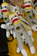 Of course there are Hawkeye sock monkeys.
