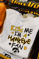 More than 75 vendors attended FRY Fest, and Hawkeye apparel was plentiful.